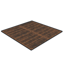 A floor grill