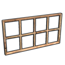 Wooden Window Bars