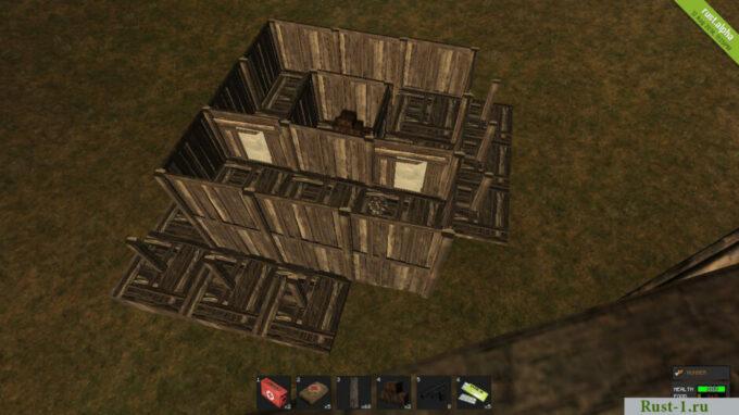 защита дома от рейдеров