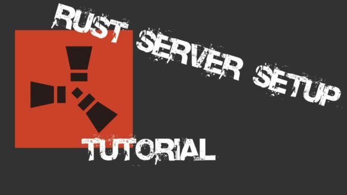 Как оформить меню сервера Rust
