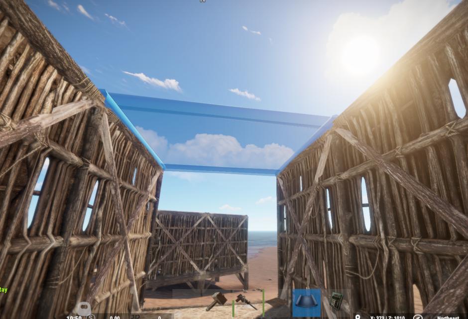 Как сделать потолок в Rust