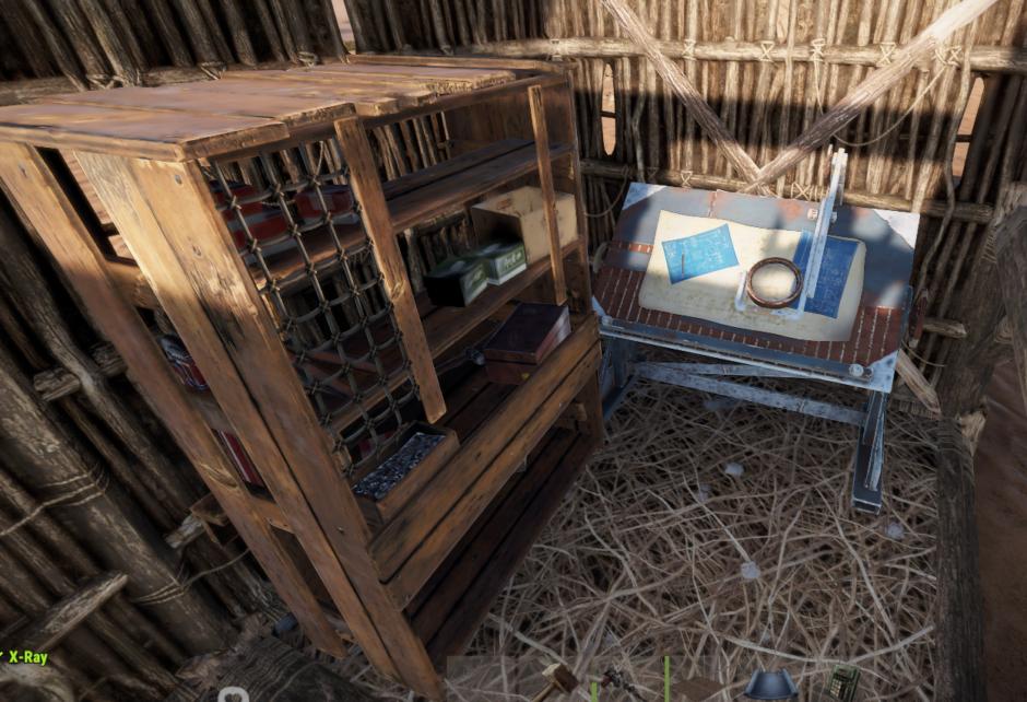 Как поставить стол для исследований в Rust