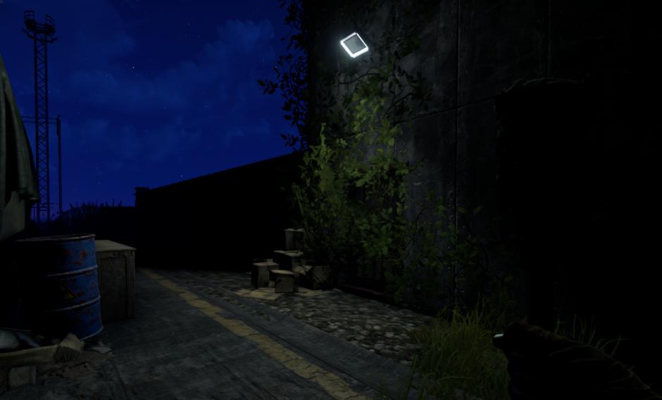 светлая ночь в Rust